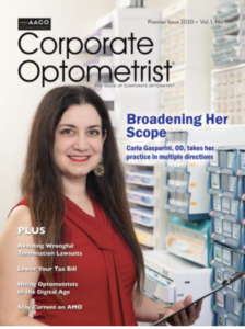 corporate-affiliated optometrist